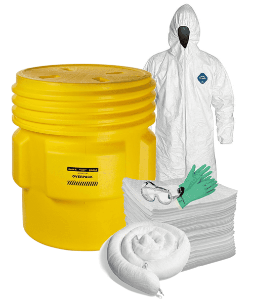 Picture of Spill Kit, Oil Only, 95 Gallon w/ PPE for Two People