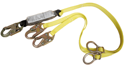 Picture of Lanyard Twin Leg Tie-Back Workman MSA