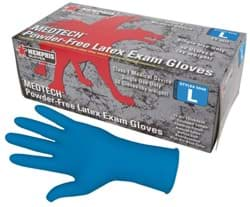 Picture of MedTech Powder-Free Latex Exam Glove 15mil. - L