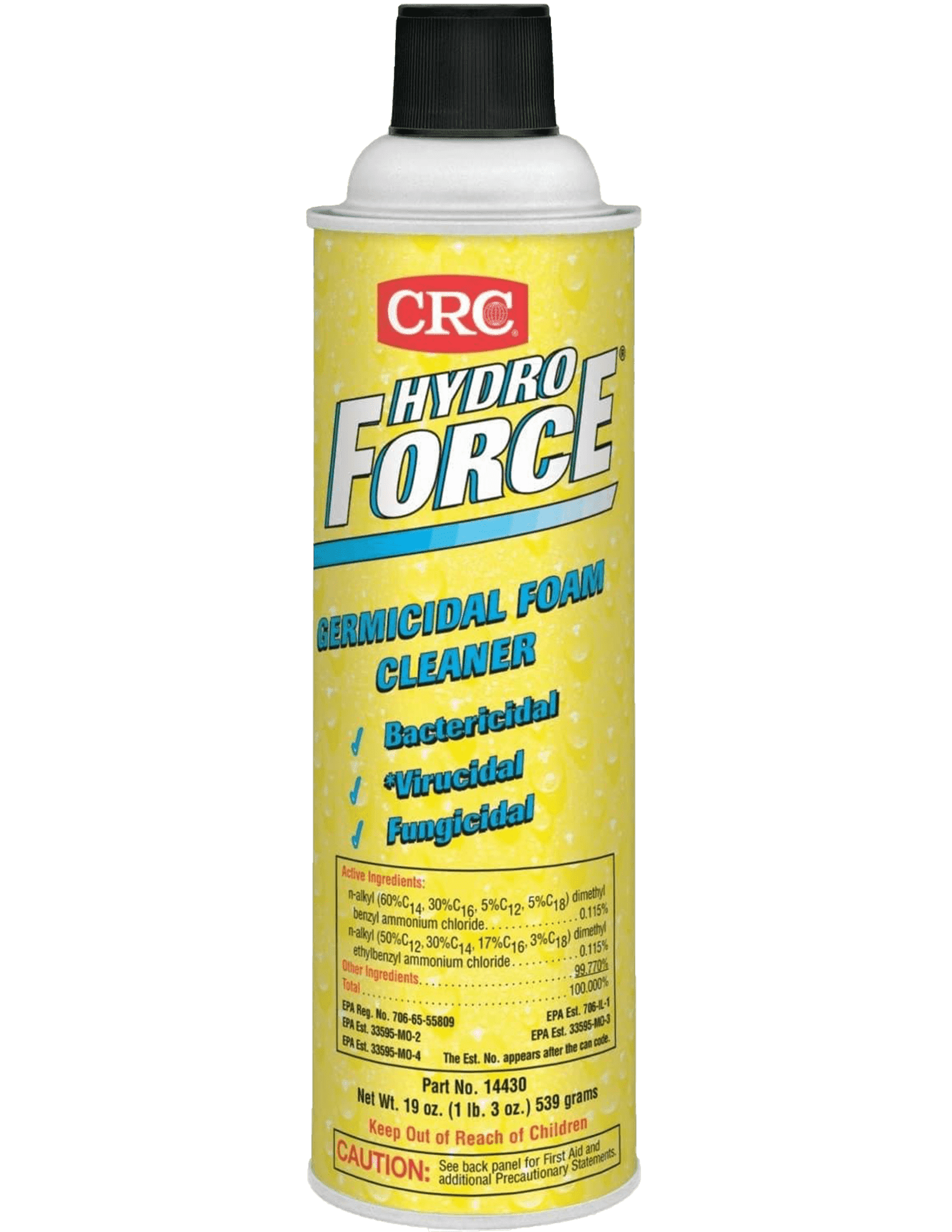 Picture of HydroForce Germicidal Foam Cleaner,  19 Wt Oz