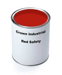 Picture of Paint Gallon Industrial Crown – Red Safety