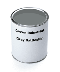 Picture of Paint Gallon Industrial Crown – Gray Battleship