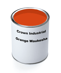 Picture of Paint Gallon Industrial Crown – Orange Waukesha