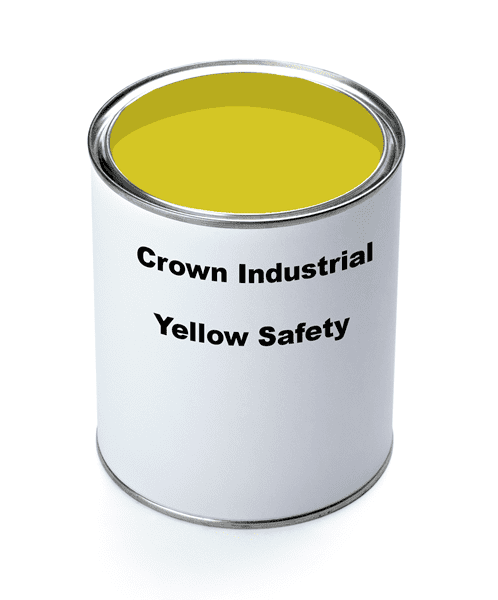 Picture of Paint Gallon Industrial Crown – Yellow Safety