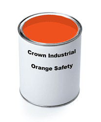 Picture of Paint Gallon Industrial Crown – Orange Safety